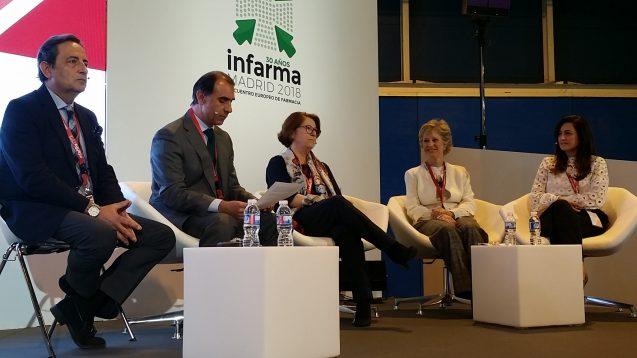 INFARMA 2018. CuyDe participó en la mesa  Coloquio organizada por COFARES en el congreso. Marzo 2018